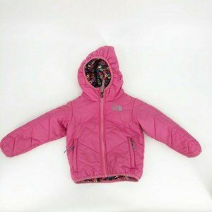 The North Face Toddler Puffer Jacket Pink Floral
